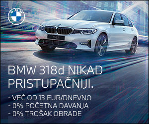 BMW 318d - Nikad pristupačniji